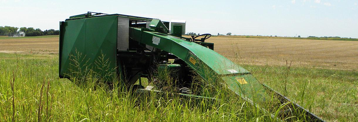 farm machinery in field