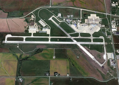 Bird's eye view of Eastern County Airport
